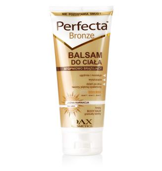 Balsam brązujący PERFECTA BRONZE (źródło: oficjalna strona producenta dax.com.pl)