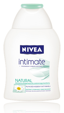 Płyn do higieny intymnej NIVEA NATURAL (źródło: www.nivea.pl)