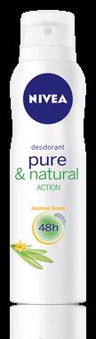 NIVEA PURE&NATURAL JASMIN dezodorant spray (źródło: nivea.pl)