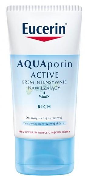 Krem intensywnie nawilżający Eucerin AQUAporin Active Rich (źródło: www.eucerin.com)