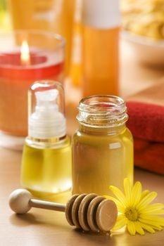 oliwa i miód (źródło: pinterest)