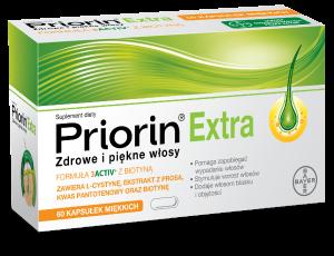 Suplement diety na wypadanie włosów Priorin Extra
