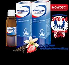 Mucosolvan - syrop na kaszel mokry