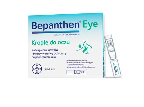Bepanthen - krople na podrażnione oczy