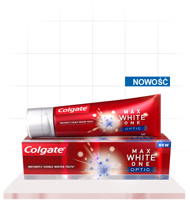 Dobra pasta wybielająca - Colgate Max White One Optic