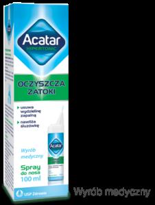 źrodło: acatar.pl opakowanie kropli acatar czyli sposób na zatoki