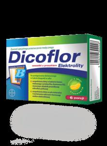 opakowanie dicoflor elektrolity jak wystąpi biegunka u niemowlaka