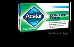 opakowanie tabletek acatar na to jak szybko pozbyć się kataru