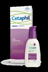 opakowanie i preparat cetaphil skóra trądzikowa