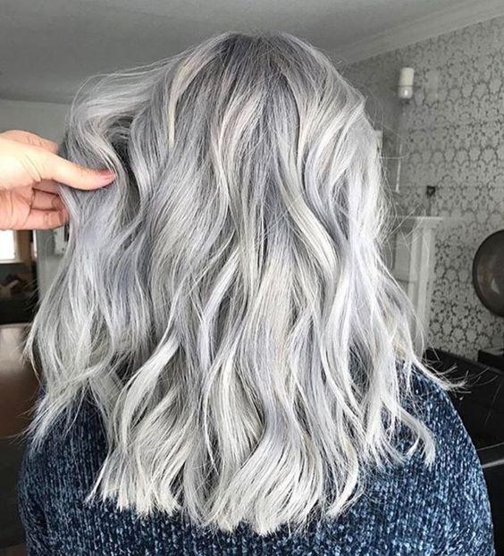 włosy siwe pielęgnacja