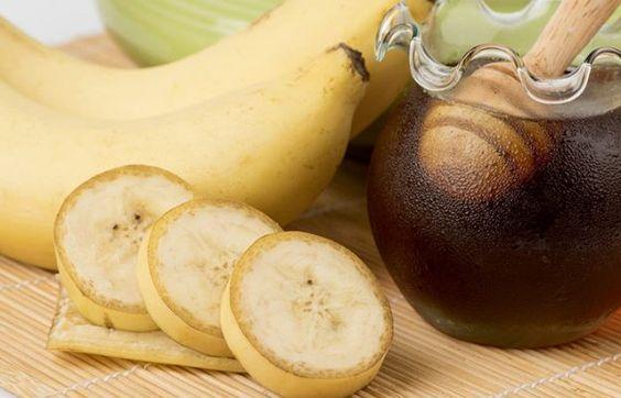 maska do twarzy z banana